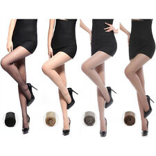 Women Lady Sexy Sheer Transparent Tights Ultra-thin Pantyhose Plus Size 4 Colors