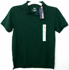 New Boys CHEROKEE Polo Shirt School Uniform Dark Green XXL