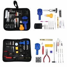 144Pc Watchmakers Watch Repair Kit Tool Case Opener Link Remover Spring Bar Tool