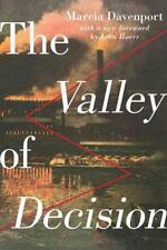 THE VALLEY OF DECISION - DAVENPORT, MARCIA - NEW PAPERBACK BOOK