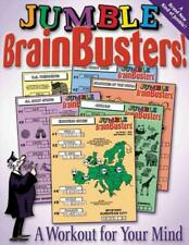 JUMBLE BRAIN BUSTERS! - HOYT, DAVID L./ HOYT, RUSSELL L. - NEW PAPERBACK BOOK