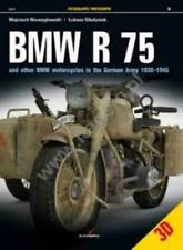 BMW R 75 AND OTHER BMW MOTORCYCLES IN THE GERMAN ARMY IN 1930-1945 - NIEWEGLOWSK