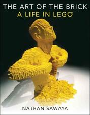 THE ART OF THE BRICK - SAWAYA, NATHAN - NEW HARDCOVER BOOK
