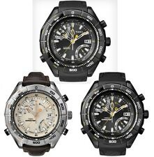 Timex Altimeter Gents Resin or Leather Strap Watch IQ / Expedition