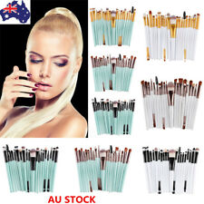 Pro 20PCS Makeup Set Powder Foundation Eyeshadow Eyeliner Lip Cosmetic Brushes