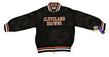 Touch By Alyssa Milano NFL Juniors Cleveland Browns Cropped Jacket NWT S,M,L,XL