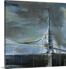 Canvas On Demand 'Across the Bay' by Terri Burris Painting Print on Canvas