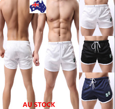 Men Quick-Dry Beach Pants Boardshorts Surf Shorts Swimwear Board  Mesh Shorts