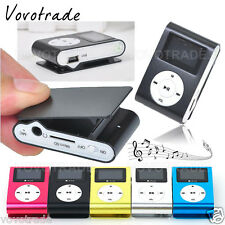 USB Clip MP3 Media Player MP3 Lecteur LCD Screen Support 32GB Micro SD TF Card