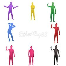Full Body Lycra Spandex Skin Suit Catsuit Halloween Party Zentai Costume Bodysui