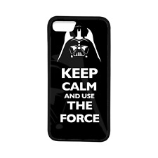 Keep Calm And Use The Force Star Wars TPU Case Cover for iPhone 7 7 Plus 6 6S 6+