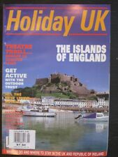 Holiday UK Magazine August / September 2000 The Islands of England