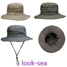 Boonie Fishing Hiking Boating Army Military Bucket Outdoor Hat Sun Cap Mesh