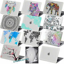 Clear Painted Rubberized Hard Case Cover For New Macbook Pro Air 11 13 15 Touch