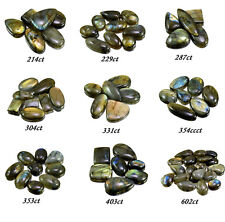 214ct-602ct Big Natural Rare Labradorite Loose Gemstones Cabs Wholesale Lot
