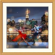East Urban Home 'Dancing in the Moonlight' Oil Painting Print