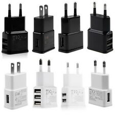 5V 2A 1/2/3-Port USB Wall Adapter Charger US/EU Plug For Samsung  S5 S6 iPhone B