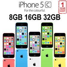 Apple iPhone 5c 8 16 32 64GB Factory Unlocked Smartphone Mobile Various Color US