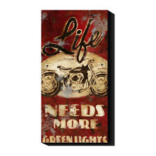 Life Needs More Green Lights by Rodney White Drawing Print on Canvas