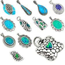 Factory direct jewelexi blue 925 sterling silver pendant jewelry 5024B