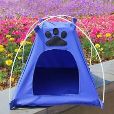 Pet Puppy Cat Dog House  Portable Folding Kennel Tent bed