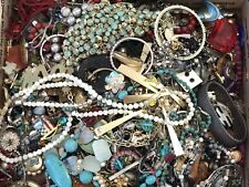 UNSORTED MIXED VINTAGE MODERN ESTATE RHINESTONE VARIOUS HUGE 25 LBS JEWELRY LOT