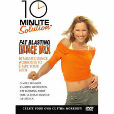 10 Minute Solution: Fat Blasting Dance Mix (DVD, 2006) Brand New Sealed