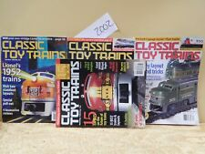 Classic Toy Trains Complete Year 2002 9 Issues