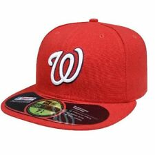 MLB Washington Nationals Authentic On Field Game 59FIFTY Cap-Red
