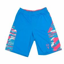 NWT Under Armour Boys Loose Fit Blue Shorts Youth Activewear