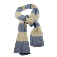 FRENCH CONNECTION FCUK 100% Wool Winter Scarf NWT blue white red