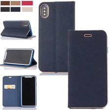 Luxury PU Leather Flip Wallet Card Stand Case Cover For Apple iPhone X 7 Plus 8