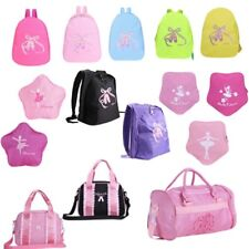 Ballet Dance Backpack Toe Shoes Embroidered School Kids Girls  Shoulder Bag