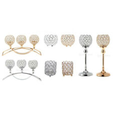 Crystal Candle Holders Wedding Banquet Candlesticks Home Decorative Centerpiece