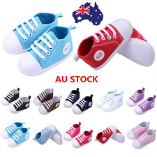 Baby Infant Boy Girl Soft Sole Crib Shoes Newborn Toddler Sneaker 0-18 Month