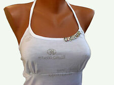 Roberto Cavalli woman's white top tunic size S, M