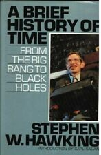 A Brief History of Time by Stephen W Hawking Hardback Book The Fast Free