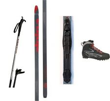 NEW ALPINA ENERGY XC CROSS COUNTRY NNN SKIS/BINDINGS/BOOTS/POLES PACKAGE - 185cm