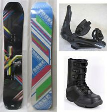 NEW TRANS FE SNOWBOARD, BINDINGS, BOOTS PACKAGE - 151cm