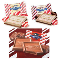 GHIRARDELLI PEPPERMINT COLLECTION CHOCOLATE SQUARES (Lindt Lindor) christmas