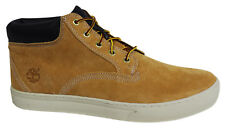 Timberland Dauset Mens Wheat Suede Leather Lace Up Chukka Boots A1613 T4