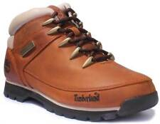 Timberland A121K Euro Sprint Hikers Men Nubuck Leather Brown Hiker Boots