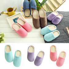 Unisex Winter Warm Soft Home Non-Silp Candy Color Slippers Indoor Shoes Dazzling