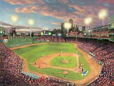 Thomas Kinkade Fenway Park Publisher's Proof on Paper 24x18