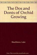 The Dos and Donts of Orchid Growing by Barnes, Luke Paperback Book The Fast Free