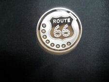 1 OZ. .999 FINE SILVER ROUND, GET YOUR KICK'S ON ROUTE 66 , NEW, UNCIRCULATED