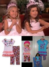 Size 8- 12 American Girls Doll Clothes Matching Top & Capri Outfit Dollie and Me