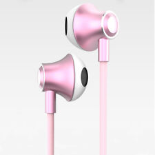3.5mm Stereo Headphones In Ear Earphones with Mic & Volume Control For Samsung