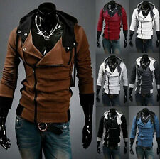 Stylish Creed Hoodie men's Cosplay Assassins Cool Slim Jacket Costume Fashion