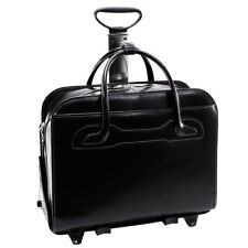 "McKlein USA WILLOWBROOK W series 17"" Rolling Briefcase for Women"